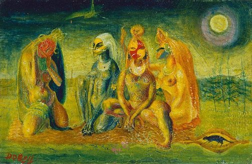 An image of Love song by William Dobell