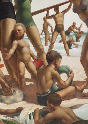 Alternate image of Australian beach pattern by Charles Meere