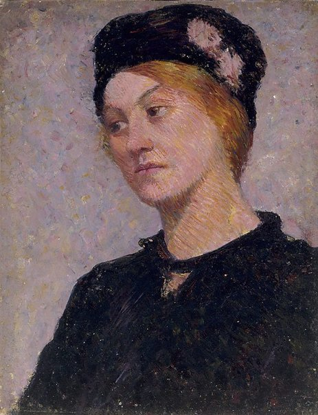 An image of Portrait of Ginger West by Roland Wakelin