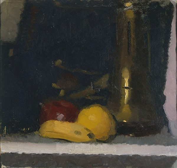 The brass pot, (circa 1921) by Roland Wakelin
