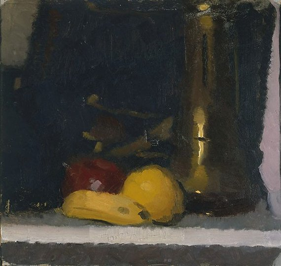 AGNSW collection Roland Wakelin The brass pot (circa 1921) OA22.1967