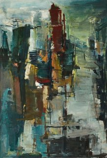 City building, (1959) by Margo Lewers