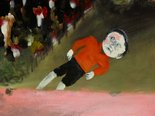 Alternate image of Boy in township by Sidney Nolan