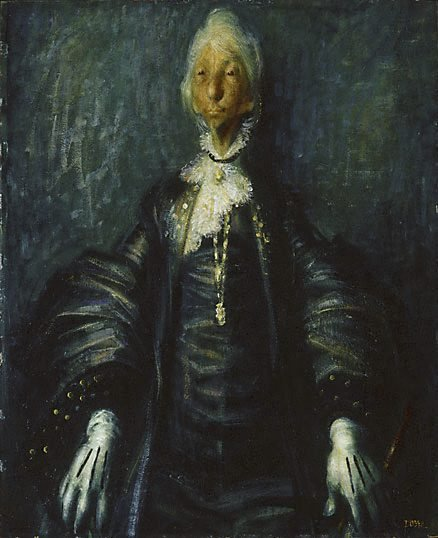 An image of Dame Mary Gilmore by William Dobell