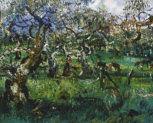 An image of Dairy farm, Victoria by John Perceval