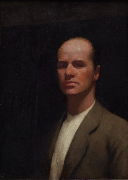 An image of Self portrait by Percy Leason