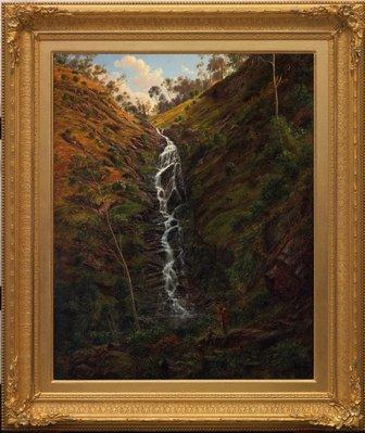 Alternate image of Waterfall, Strath Creek by Eugene von Guérard