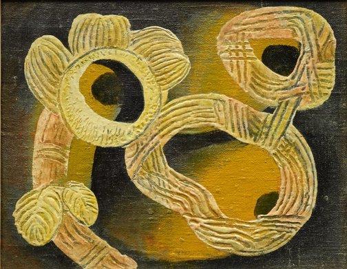An image of Underwater motifs by Ludwig Hirschfeld-Mack