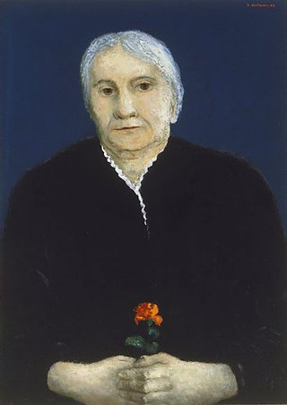 AGNSW collection Sali Herman The artist's mother 1944, 1954