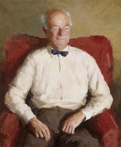 An image of Portrait of Roland Wakelin by Shirley Bourne