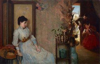 Jealousy, 1889 by Tom Roberts