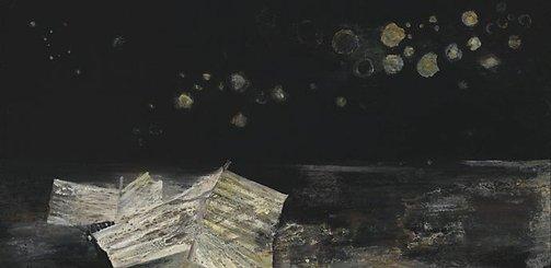 An image of Nocturne landscape by Jon Molvig