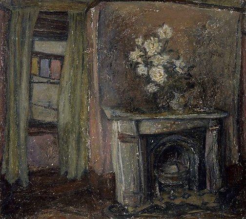 An image of The fireplace by Ronald Millen