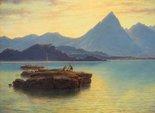 Alternate image of Jebel Cherib by Eugene von Guérard