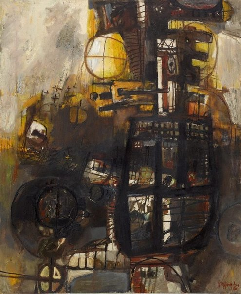 An image of Charred memories by Leonard Hessing