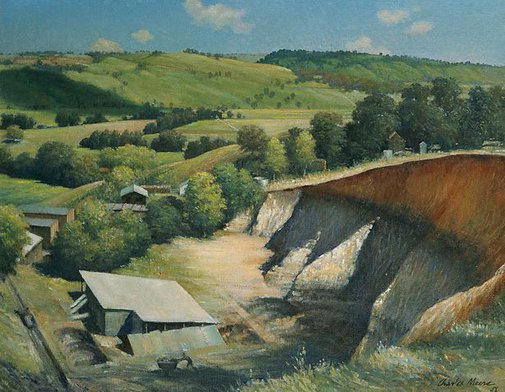 An image of Brickworks at Bexhill, Lismore by Charles Meere