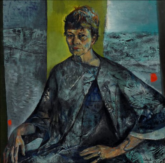 AGNSW prizes Judy Cassab Margo Lewers, from Archibald Prize 1967