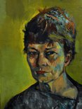 Alternate image of Portrait of Margo Lewers by Judy Cassab
