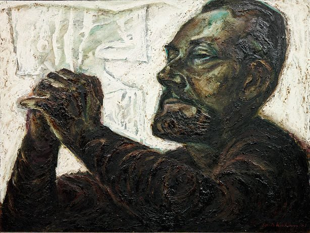 An image of Portrait of Albert Tucker