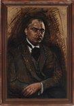 Alternate image of Portrait of Dimitri Mitrinovic by Roy de Maistre