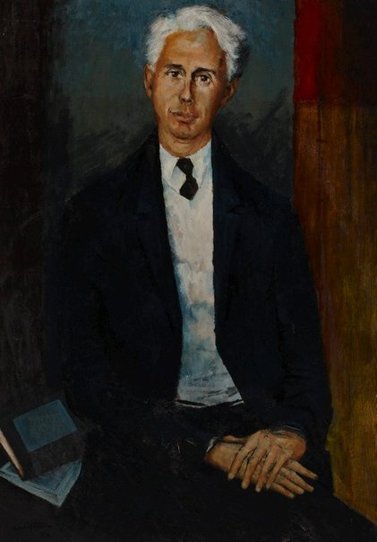 An image of Geoffrey Dutton by Clifton Pugh