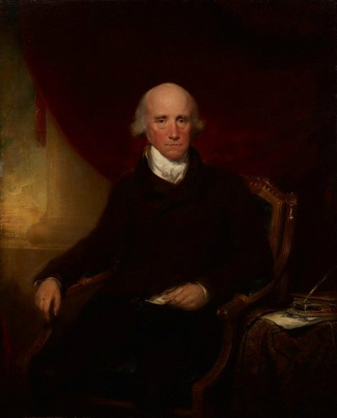 An image of Warren Hastings by Lemuel Francis Abbott