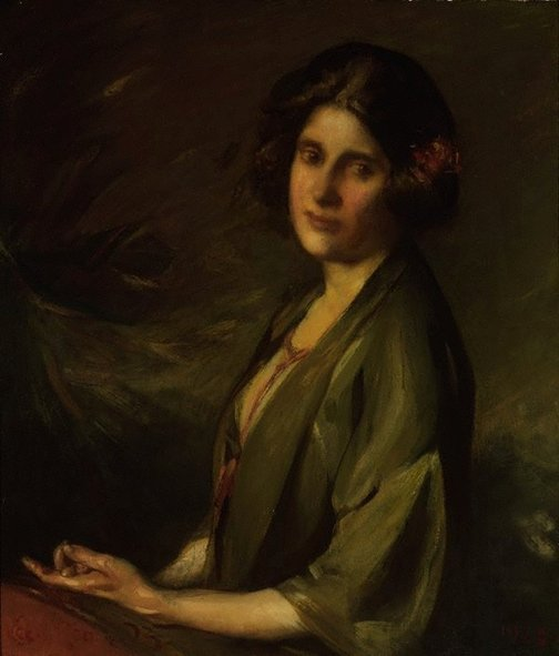 An image of Portrait of Inez Bensusan by Cecil William Rea