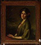Alternate image of Portrait of Inez Bensusan by Cecil William Rea