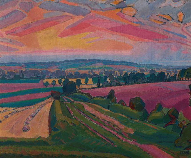 AGNSW collection Spencer Gore The Icknield Way 1912