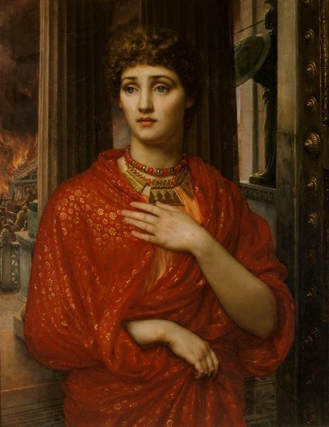 An image of Helen by Sir Edward John Poynter