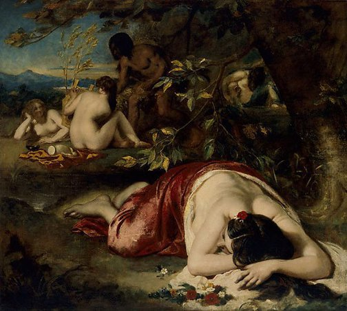 An image of The Golden Age by William Etty