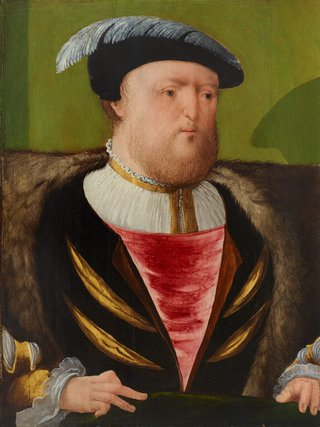 AGNSW collection Anglo-Netherlandish workshop King Henry VIII (circa 1535-circa 1540) OB4.1962