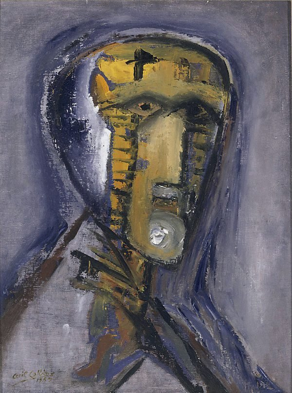 An image of Head of a man