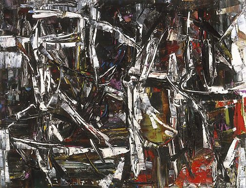 An image of Painting by Jean-Paul Riopelle
