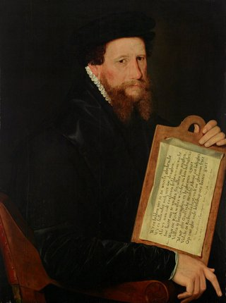 AGNSW collection Willem Key Portrait of a Protestant minister of religion (1563) OO1.1965