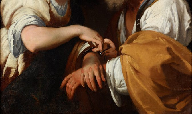 Alternate image of The release of St Peter by Bernardo Strozzi