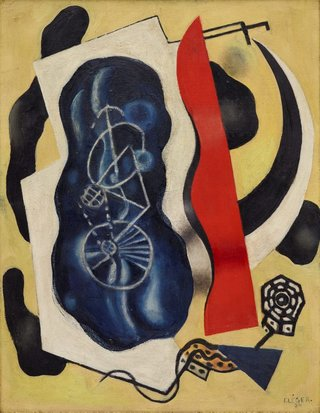 AGNSW collection Fernand Léger The bicycle (1930) OO2.1966