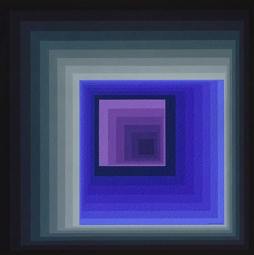 An image of Reytey-va by Victor Vasarely