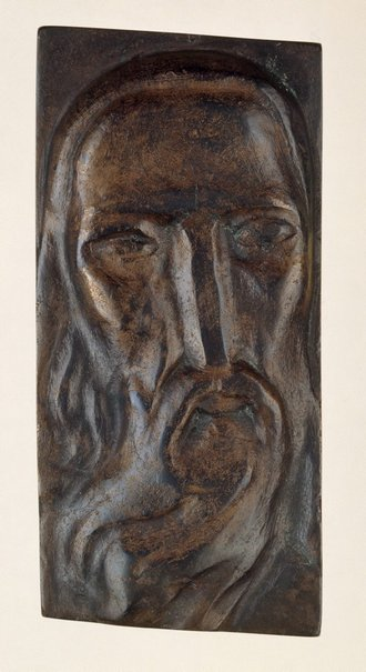 An image of Relief head by Henri Gaudier-Brzeska, H.S. Ede