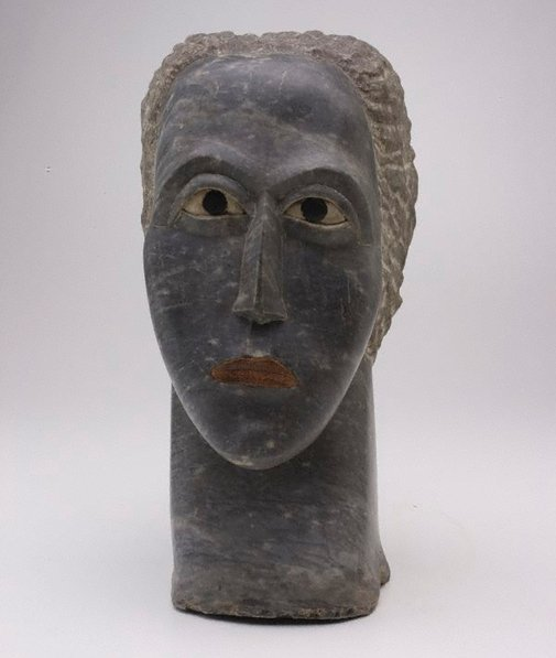 An image of Head of a woman by Ossip Zadkine