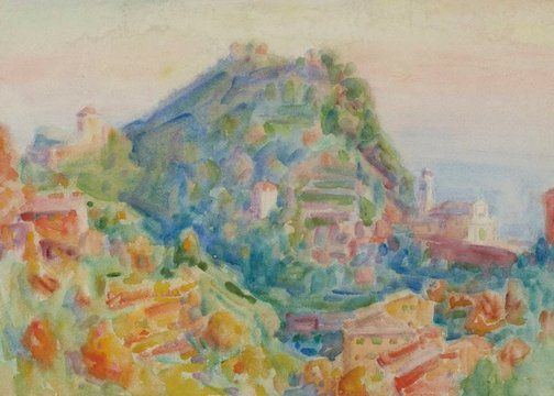 An image of Portofino by John Russell