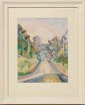 Alternate image of Wonga Wonga Street, Turramurra by Grace Cossington Smith