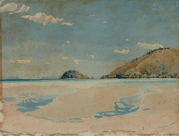 An image of Low tide, Hayman Island
