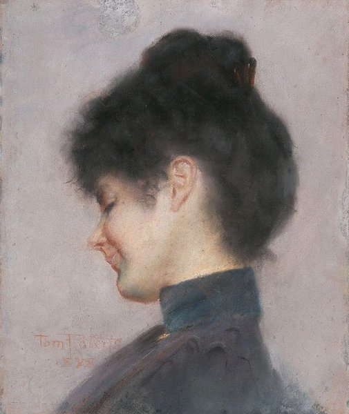 An image of Miss Florence Greaves by Tom Roberts