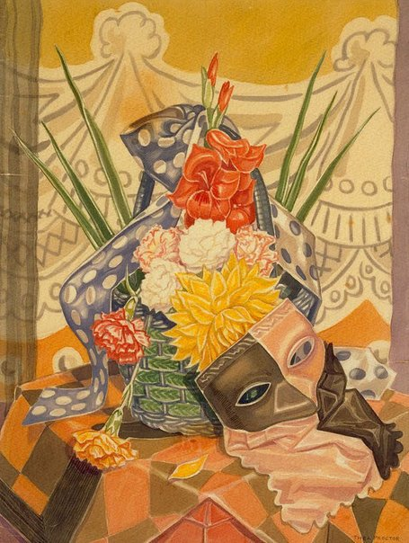 An image of The mask by Thea Proctor