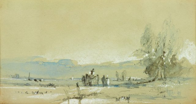 An image of Scene in Normandy (Landscape)