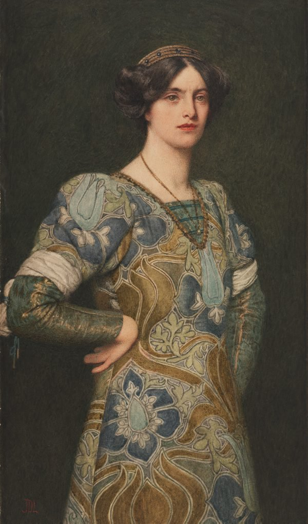 An image of Katherine from The Taming of the Shrew