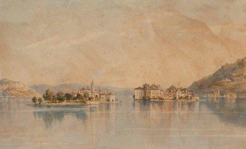 An image of Isola Bella & Isola Pescatore - Lago Maggiore by Constance Davidson