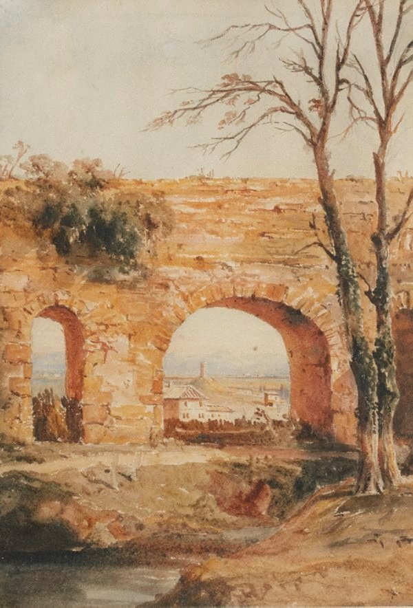 An image of In the Campagna, Rome