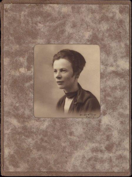 An image of Portrait of Grace Crowley in Paris by P. Deibo
